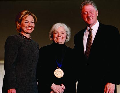 Hillary Clinton, Bobbie Handman, Bill Clinton