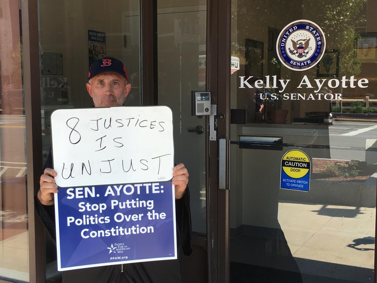 scotus justice protest