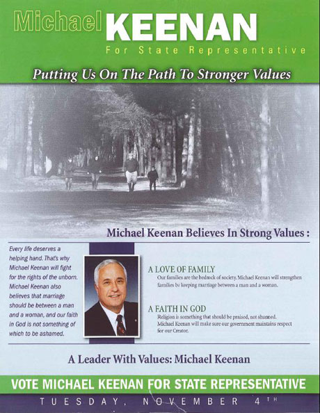 Kennan Flyer Page 1