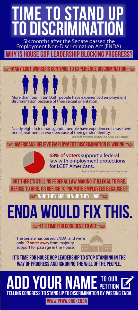 PFAW ENDA image, infographic