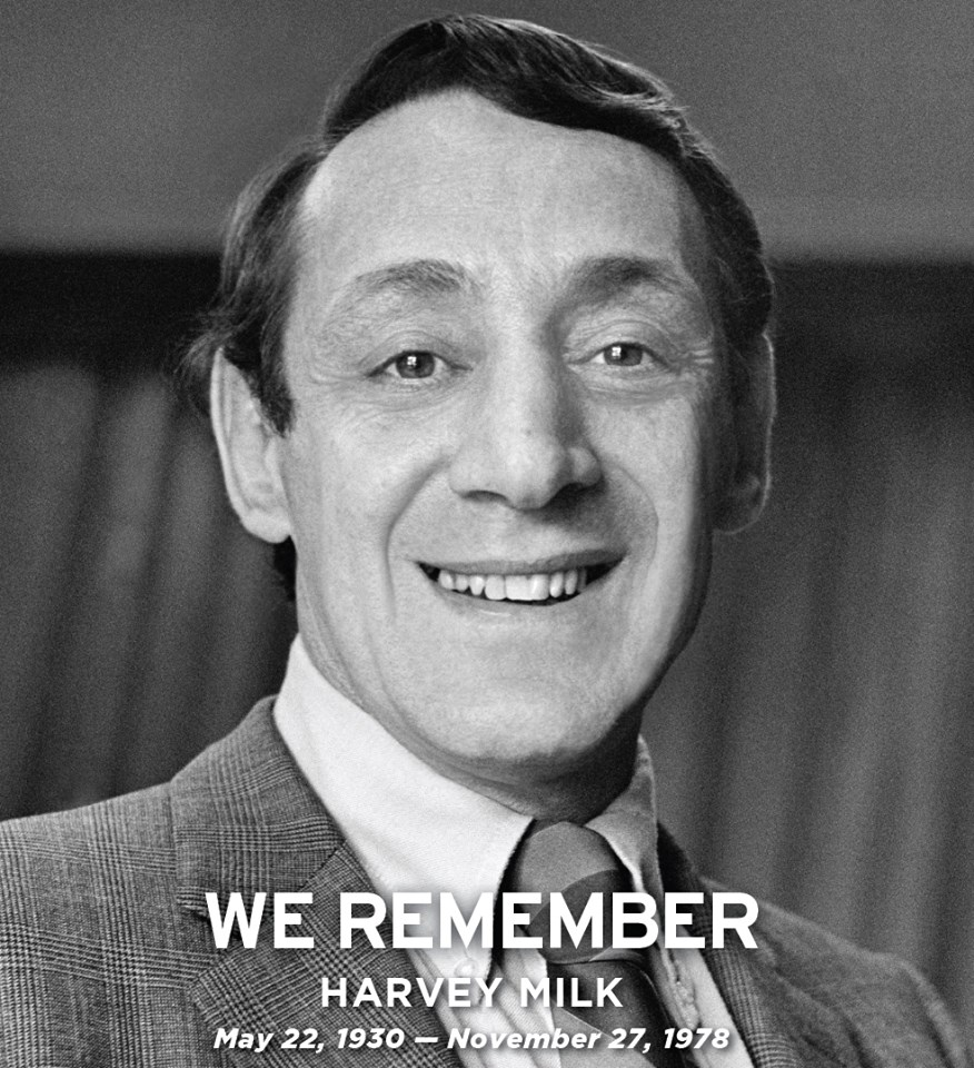 We remember Harvey Milk