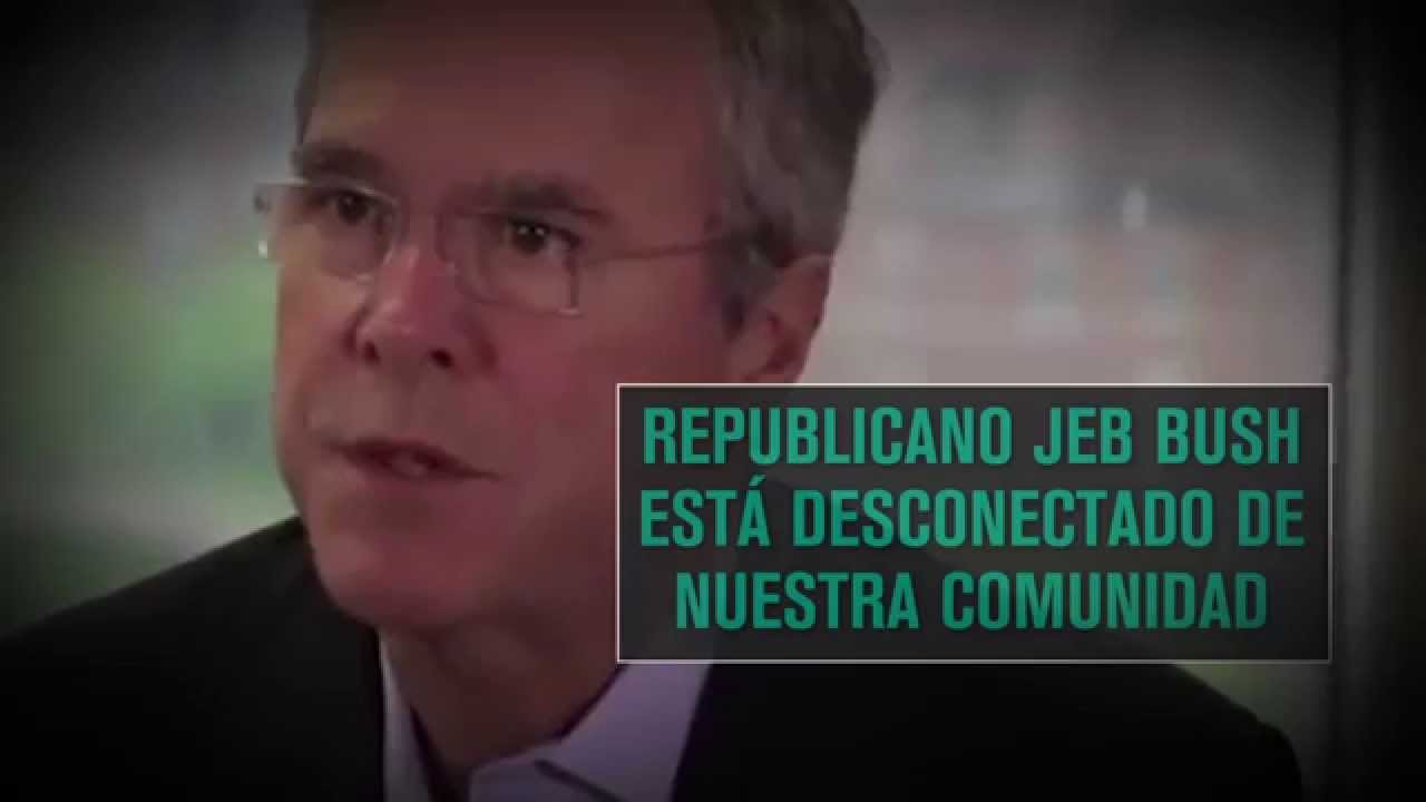 PFAW's New Spanish-Language Ad Criticizes Jeb Bush For His Record on Immigration, Minimum Wage